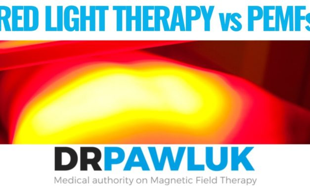 Can you compare PEMF with red light therapy?
