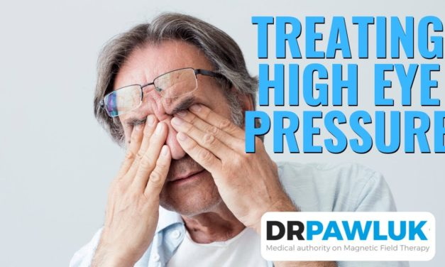 What frequency, intensity/Gauss, and time would you suggest when treating elevated eye pressure?