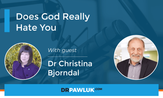 Dr Christina Bjorndal – Does God Really Hate You